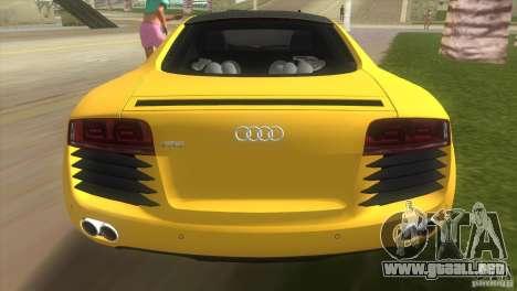 Audi R8 V10 TT Black Revel para GTA Vice City vista lateral izquierdo