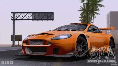Aston Martin Racing DBRS9 GT3 para visión interna GTA San Andreas