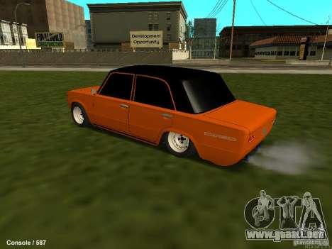 VAZ 2101 Hobo para GTA San Andreas vista hacia atrás