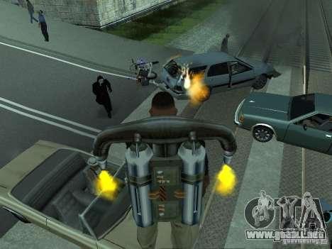 Las Granalladoras realista para GTA San Andreas quinta pantalla