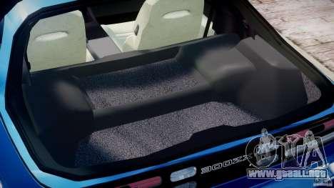 Nissan 300 ZX 1994 v1.0 para GTA 4 vista superior