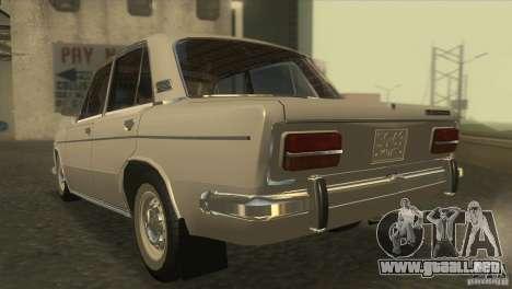 VAZ 2103 Resto para GTA San Andreas vista posterior izquierda