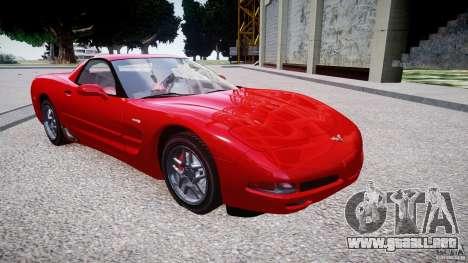 Chevrolet Corvette C5 v.1.0 EPM para GTA 4 vista hacia atrás