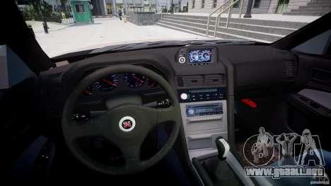 Nissan Skyline GT-R 34 V-Spec para GTA 4 vista hacia atrás