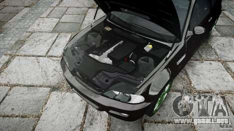 BMW M3 e46 2005 para GTA 4 vista desde abajo