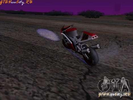 Iluminación de neón-neón en GTA San Andreas para GTA San Andreas