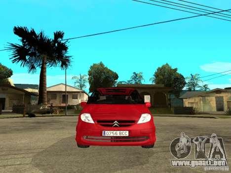 Citroen C8 para la visión correcta GTA San Andreas
