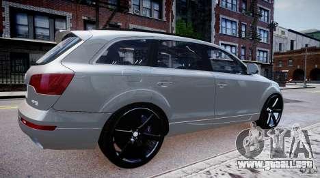 Audi Q7 LED Edit 2009 para GTA 4 left