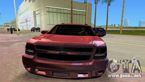 Chevrolet Tahoe 2011 para GTA Vice City vista lateral izquierdo