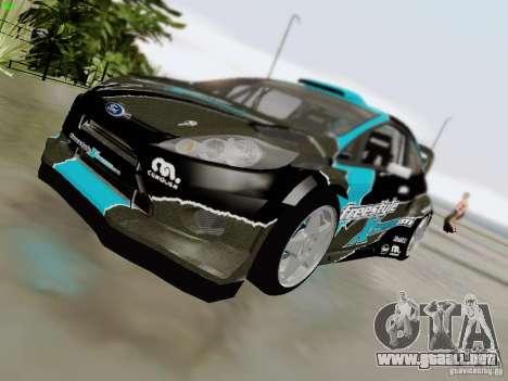 Ford Fiesta RS para vista lateral GTA San Andreas