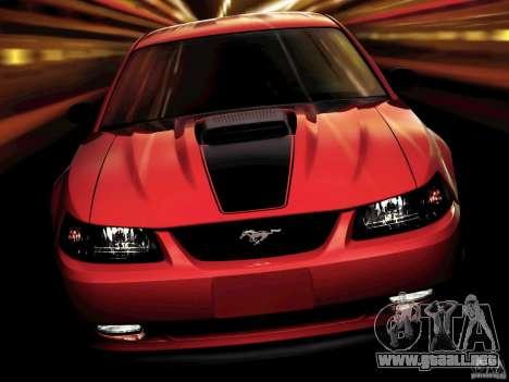 Pantallas de carga en el estilo del Ford Mustang para GTA San Andreas segunda pantalla