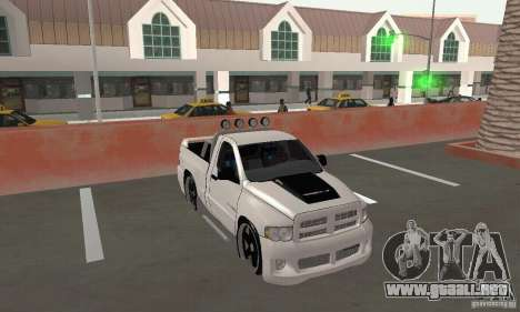 Dodge Ram SRT-10 Tuning para GTA San Andreas