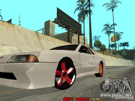 Elegy 29-13 para visión interna GTA San Andreas