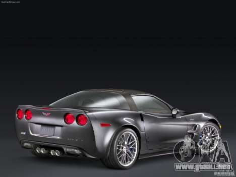 Pantallas de carga Chevrolet Corvette para GTA San Andreas tercera pantalla