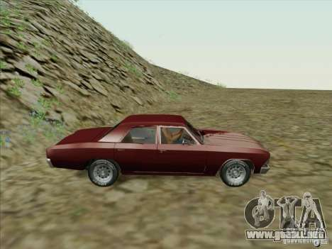 Chevrolet Chevelle para GTA San Andreas left
