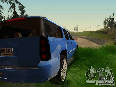 GMC Yukon Denali XL para vista inferior GTA San Andreas