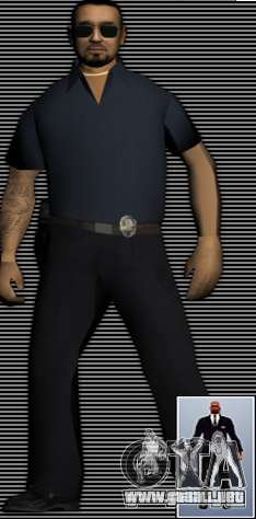 New FBI Agents para GTA San Andreas sucesivamente de pantalla