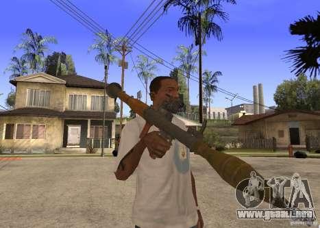 El RPG-7 para GTA San Andreas segunda pantalla