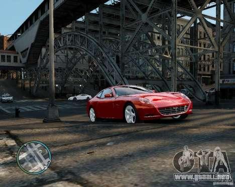 Ferrari 612 Scaglietti para GTA 4 left
