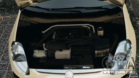 Fiat Punto Evo Sport 2012 v1.0 [RIV] para GTA 4 vista superior