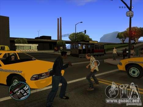 GTA IV TARGET SYSTEM 3.2 para GTA San Andreas segunda pantalla