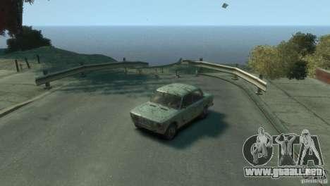 VAZ 2103-Rusty v1.0 para GTA 4 vista hacia atrás