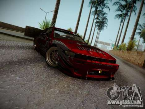 Nissan Silvia S13 Daijiro Yoshihara v2 para GTA San Andreas left