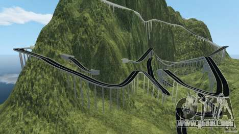 MG Downhill Map V1.0 [Beta] para GTA 4 segundos de pantalla