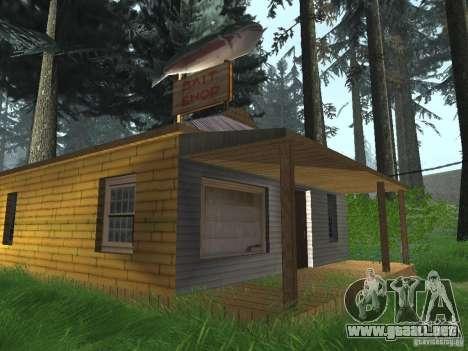 Pueblo de Angel Pine modificado para GTA San Andreas quinta pantalla
