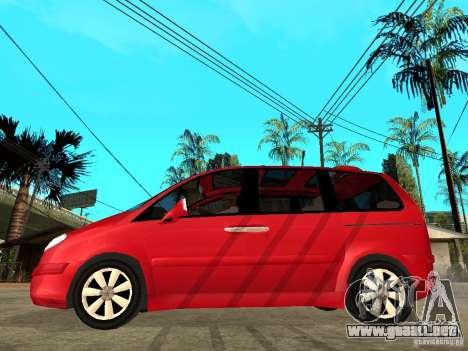 Citroen C8 para GTA San Andreas left