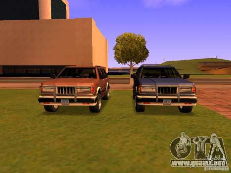 Mountainstalker S para vista inferior GTA San Andreas