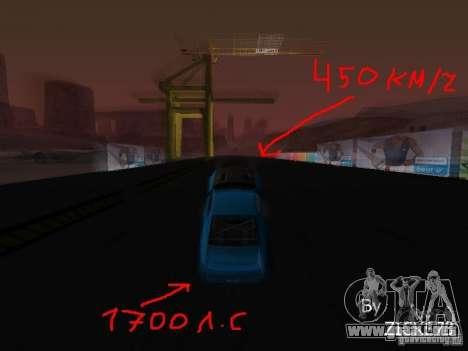 Drift mod para GTA San Andreas tercera pantalla