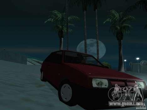 VAZ 2108 drenaje para la visión correcta GTA San Andreas