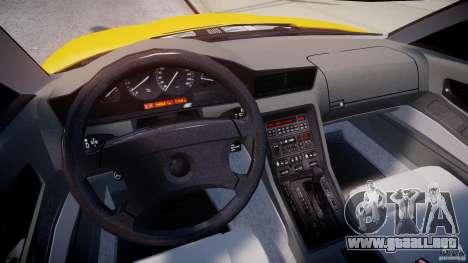 BMW 850i E31 1989-1994 para GTA 4 visión correcta