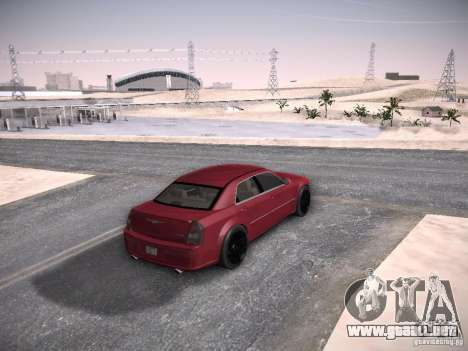 Chrysler 300C SRT8 para visión interna GTA San Andreas