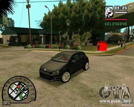 Volswagen Scirocco para GTA San Andreas