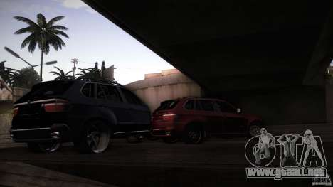 BEAM X5 Trailer para GTA San Andreas vista hacia atrás