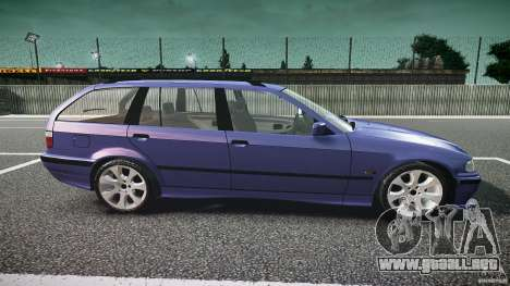 BMW 318i Touring para GTA 4 vista interior
