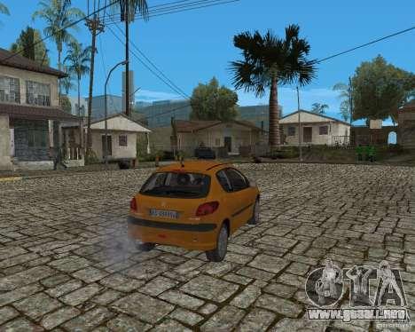 Peugeot 306 para la visión correcta GTA San Andreas