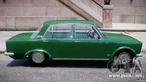 Fiat 125p Polski 1970 para GTA 4 vista superior