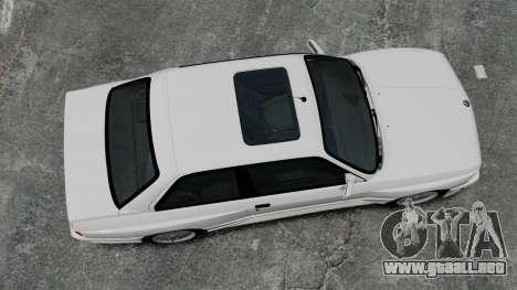 BMW M3 E30 v2.0 para GTA 4 visión correcta