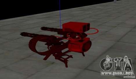 Torreta de Team Fortess 2 para GTA San Andreas sucesivamente de pantalla