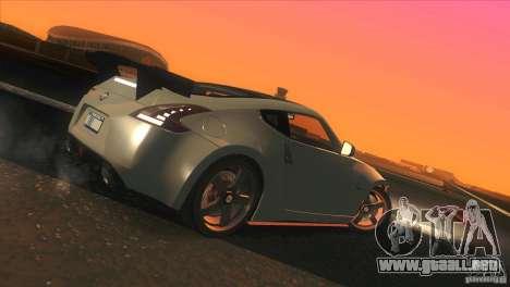 Nissan 370Z Drift 2009 V1.0 para las ruedas de GTA San Andreas