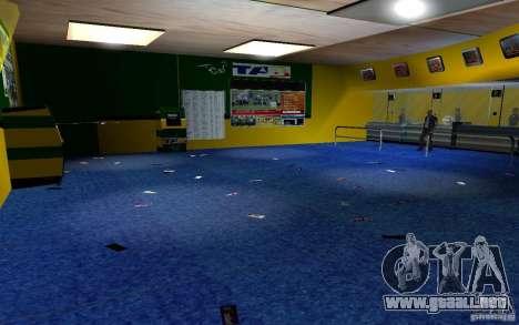 Nueva oficina de Bukmejkerskaâ para GTA San Andreas séptima pantalla