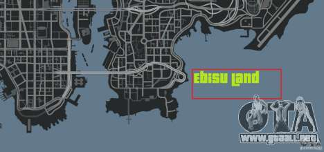 Ebisu Circuit para GTA 4 octavo de pantalla