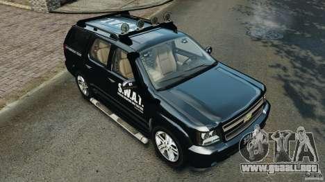 Chevrolet Tahoe LCPD SWAT para GTA motor 4