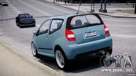 Citroen C2 Light Tuning [Beta] para GTA 4 vista lateral