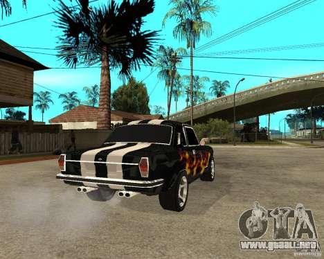 GAZ 2410 Camaro edición para GTA San Andreas vista posterior izquierda