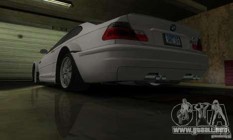 BMW M3 Tuneable para la vista superior GTA San Andreas