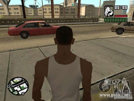 Kyubi-Bomb para GTA San Andreas sucesivamente de pantalla